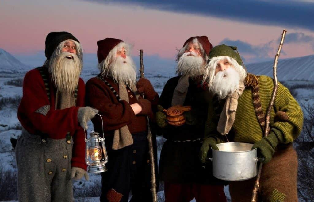 Jólasveinar Dimmuborgir Iceland
