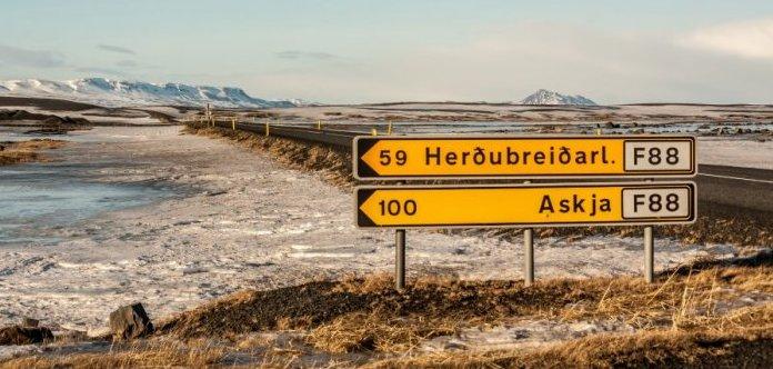 F Roads in Iceland