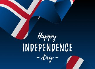 Iceland's Independence day is on June 17