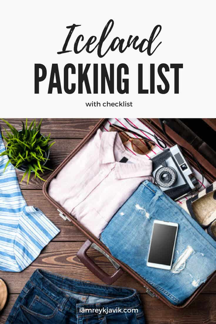 Essential Iceland Summer Packing List | View at www.iamreykjavik.com