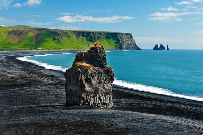 Dyrholaey is another popular tourist destination in Iceland