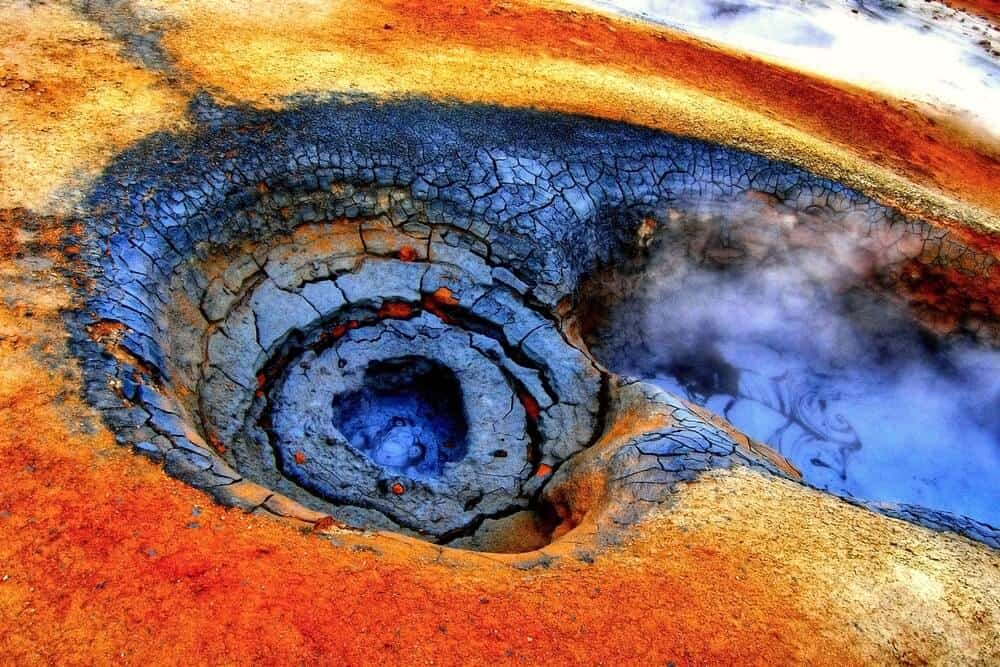 Iceland's colorful volcanic zones and lava fields are a big draw for tourists