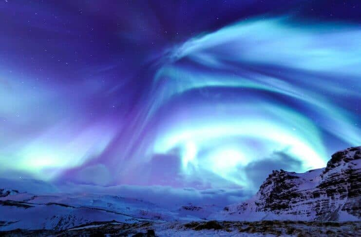 See Blue Northern Lights with Icelandair Flash Sale travel package