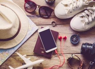 Travel accessories for those looking for digital nomad jobs