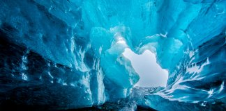 Iceland's glacier caves and ice caves are an exciting thing to do