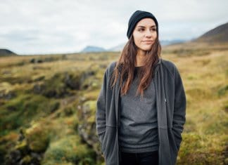 "Icelandic woman with philosophy ""thetta reddast"""