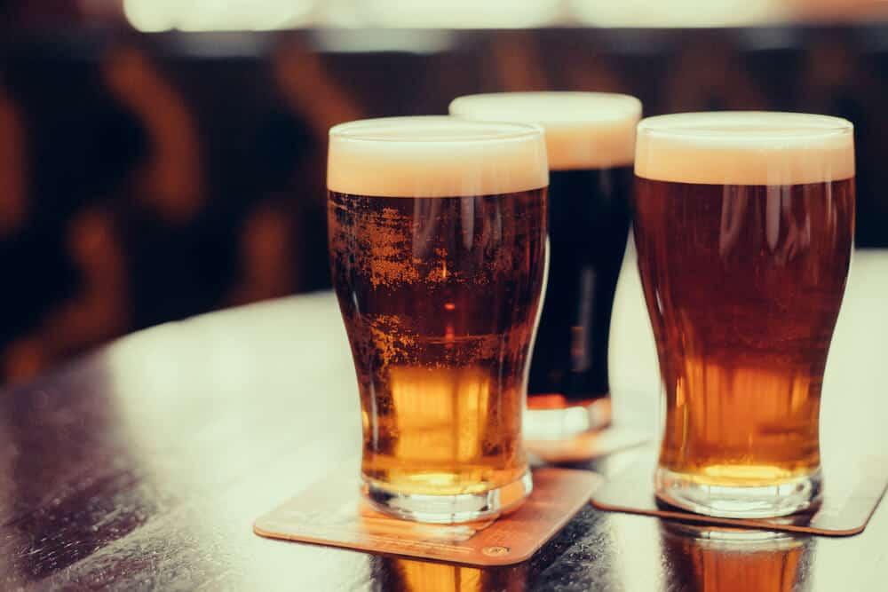 Reykjavik's best bars often served a wide variety of beer