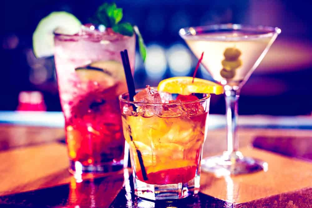 Cocktails at Slippbarinn, one of Reykjavik's best bars