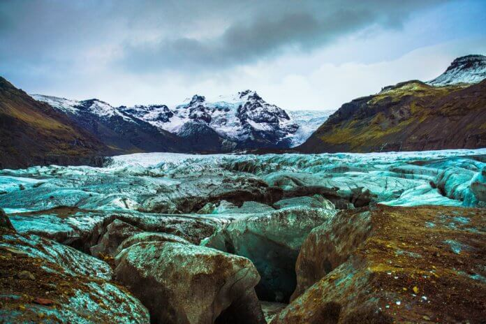 Vatnajökull National Park and Skaftafell glacier