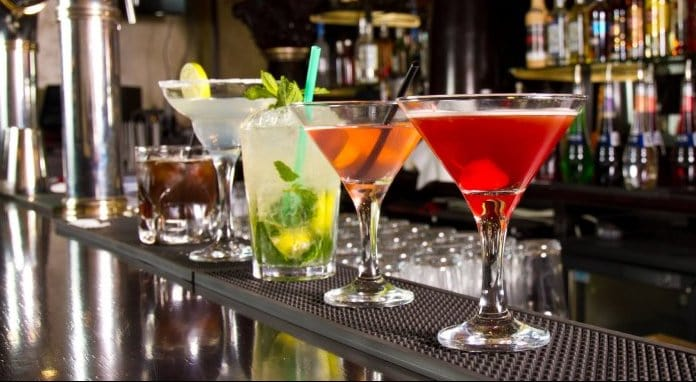 Alcoholic drinks at Bars in Reykjavik