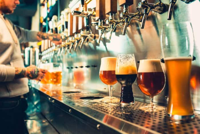 Akureyri's microbreweries offer a great selection of craft beers