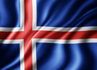 Iceland's flag is one of the more beautiful one's and it has a fascinating history