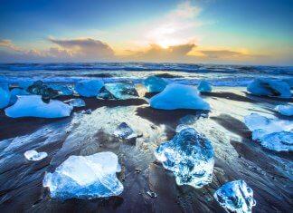 Iceland's Diamond Beach is a hidden treasure