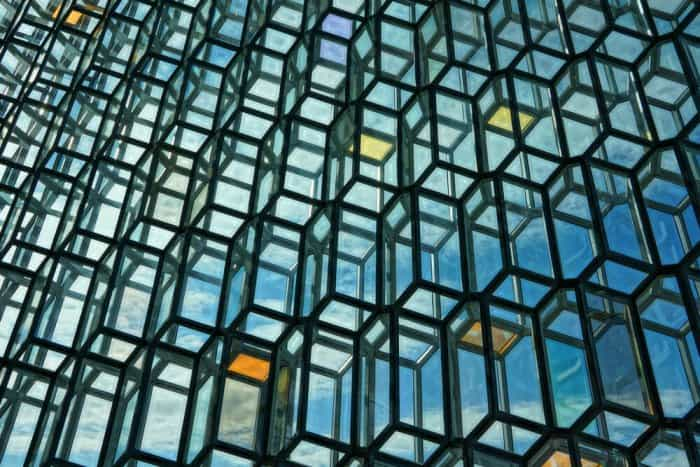 Harpa Concert Hall is a site for family activities during Reykjavik Culture Night