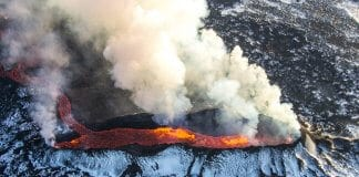 The 2010 eruption of Eyjafjallajökull volcano disrupted European airspace for almost a week