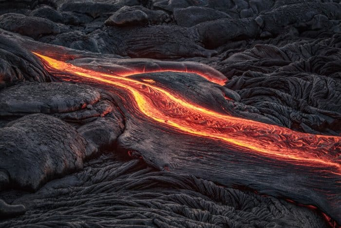 Lava flow around Lake Myvatn in Iceland's Diamond Circle