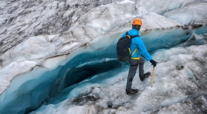 The best month to visit Iceland depends on if you want to do a glacier walk.