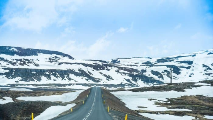 The open highways of Iceland's Ring Road