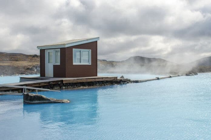 The Lake Mývatn Nature Baths are one of Iceland's best geothermal pools