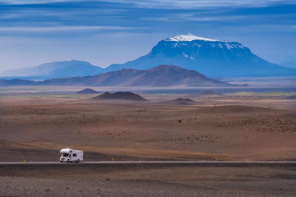 Renting a motorhome with its fantastic amenities is the best way to see Iceland