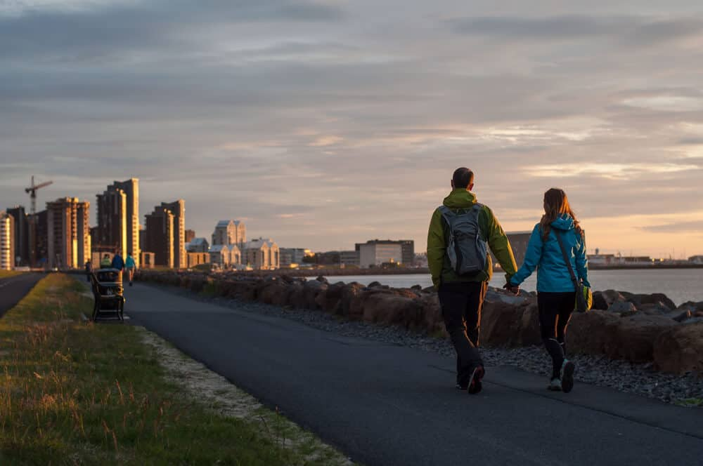 Iceland has no Uber. But Reykjavik is small and pedestrian-friendly