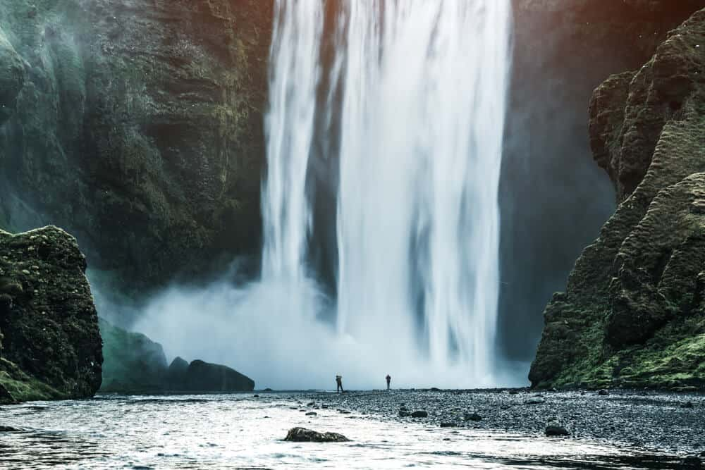 South Iceland's Skógafoss waterfall is one of its must-see attractions
