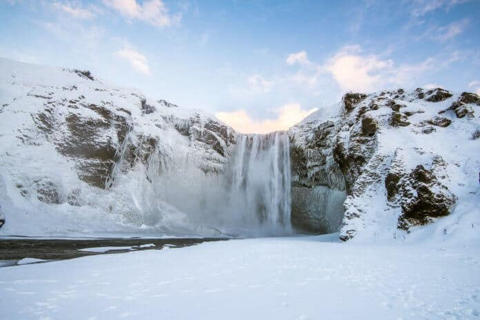 Weather in January adds to the charm of Iceland's attractions