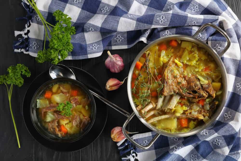 Enjoy some typical Icelandic lamb stew in Akureyri