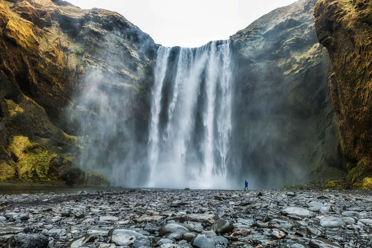 The fall months are some of the best for visiting Skógafoss and Iceland