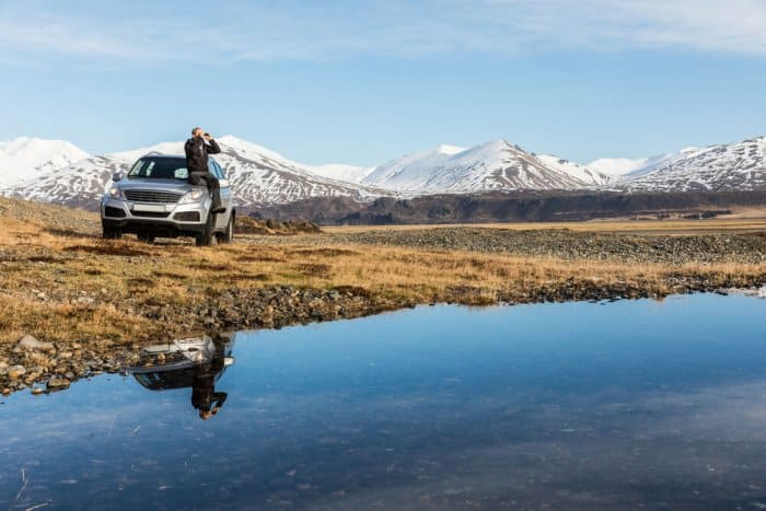 A 4x4 vehicle is legally required to drive on Iceland's F-roads