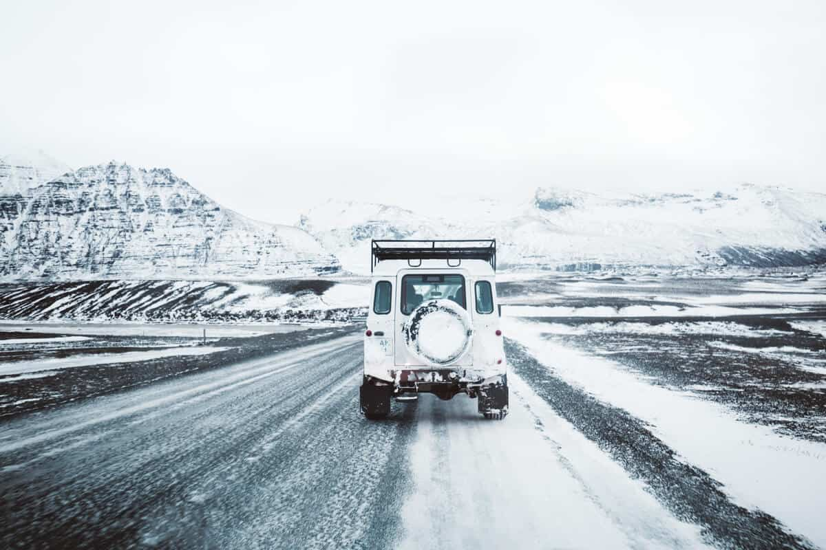 Iceland's Februrary weather presents driving challenges