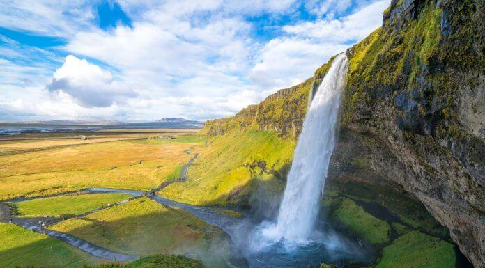 Iceland's most beautiful waterfall is Seljalandsfoss