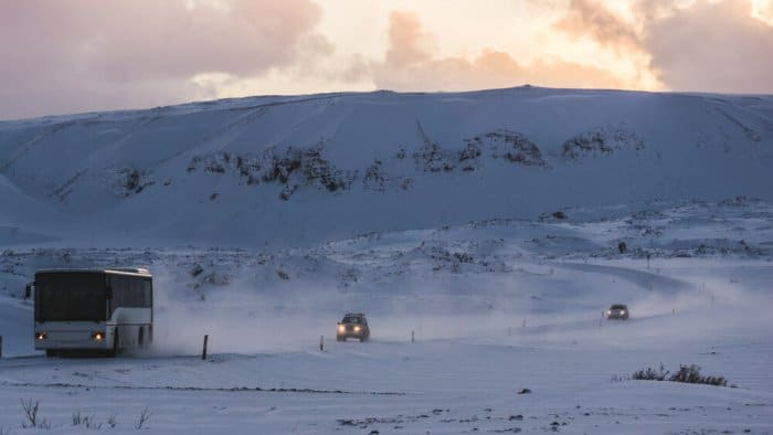 Winter driving in Iceland requires a few tips