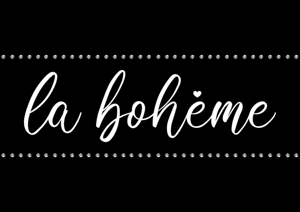 The Icelandic Opera at Harpa Concert Hall showed La Bohème in 2012