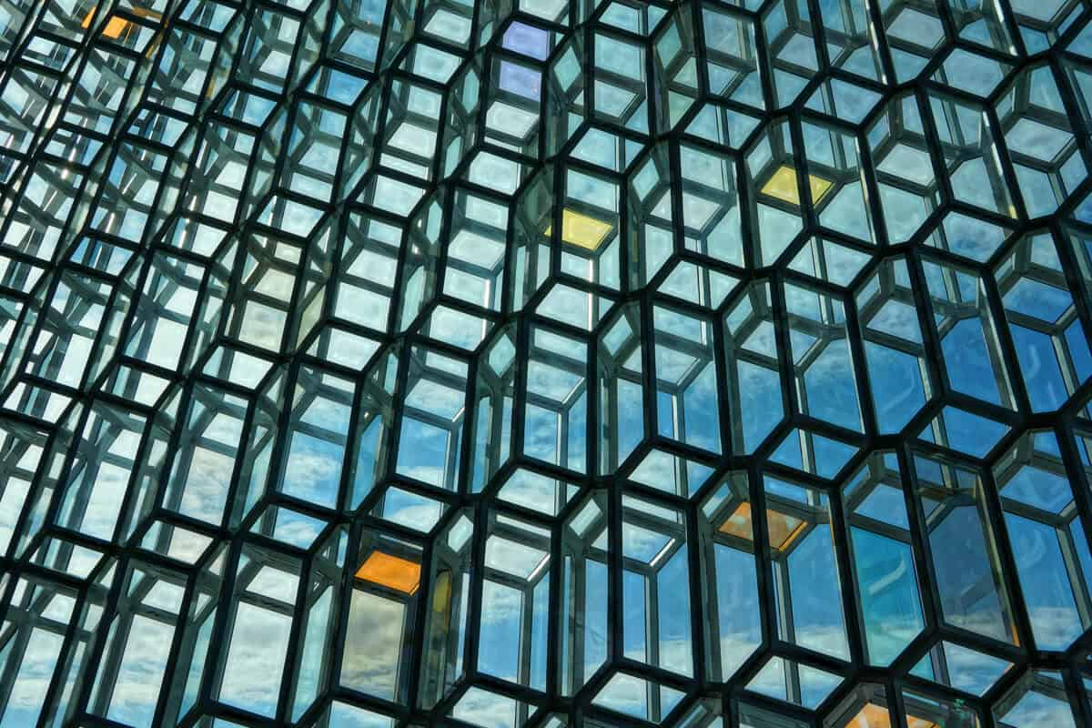 Harpa Concert Hall is famous for its architecture