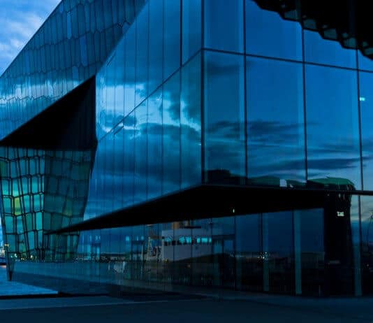 Harpa Concert Hall is an iconic Reykjavik landmark