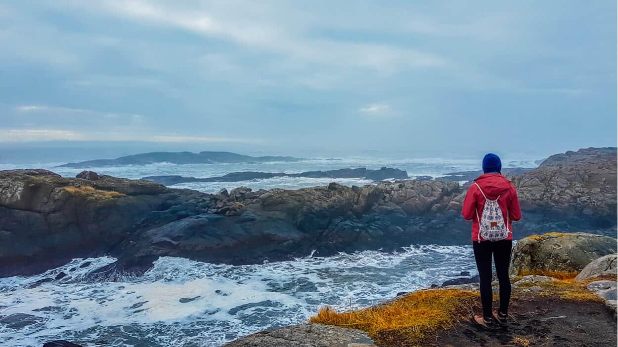 Solo female traveler in Iceland