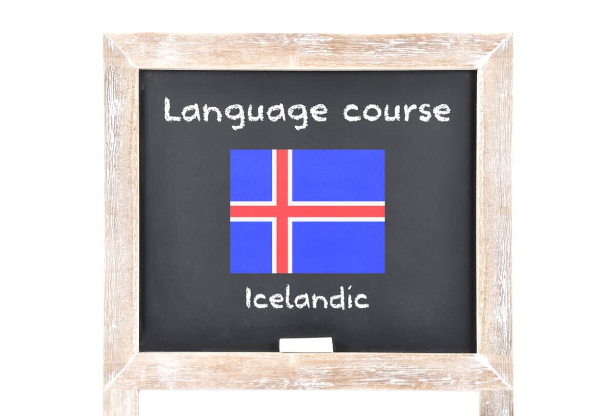 The Icelandic language is considered hard to learn