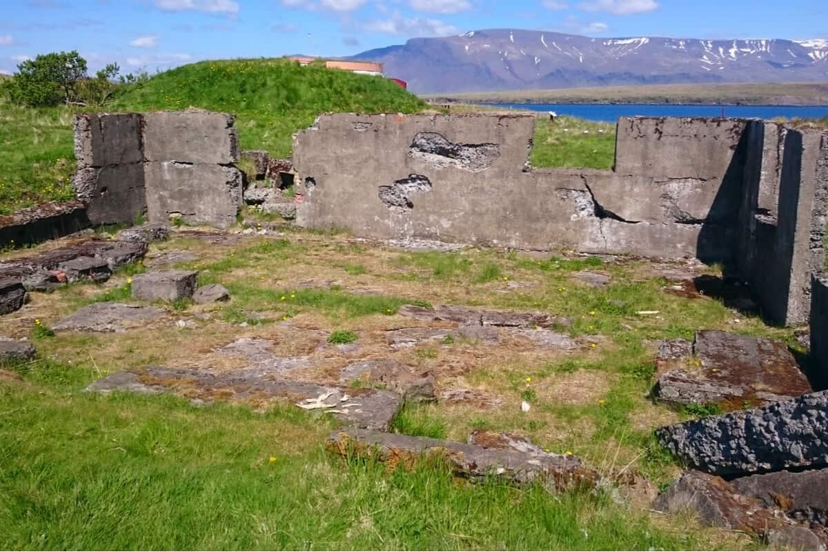 Videy island historical ruins
