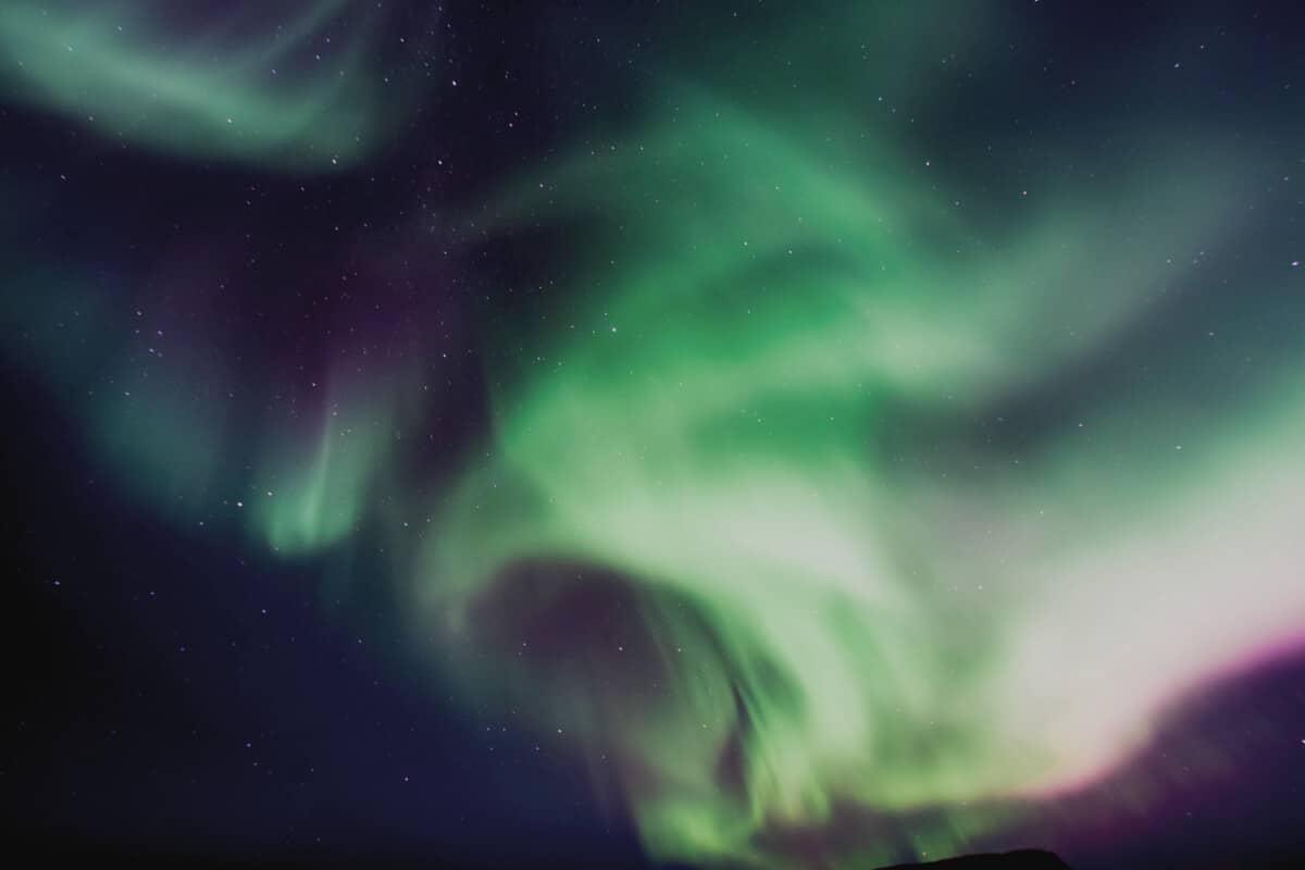 4x4 camper rental Iceland Northern Lights