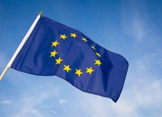 Iceland EU member flag