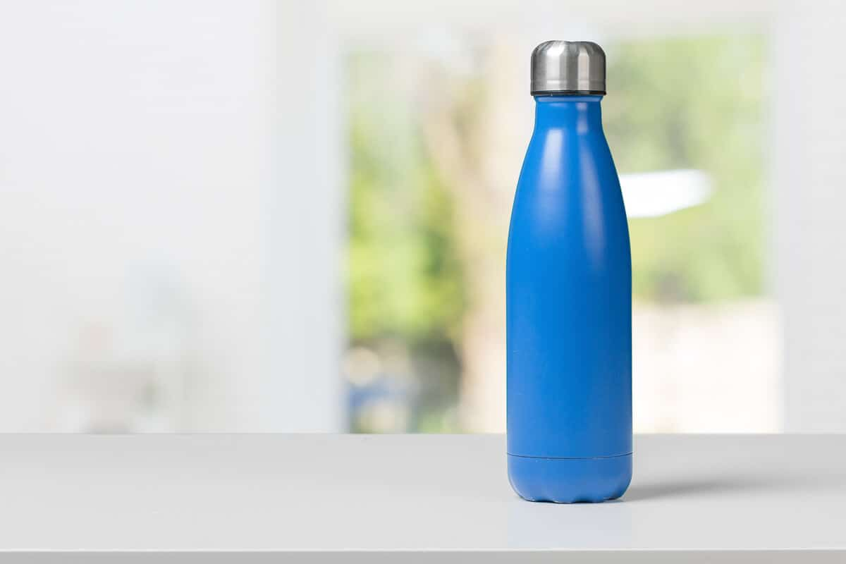 Refillable bottle for Iceland tap water