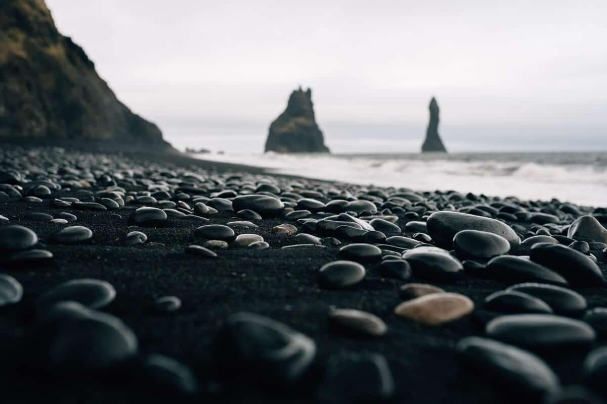 Iceland beaches Reynisfjara