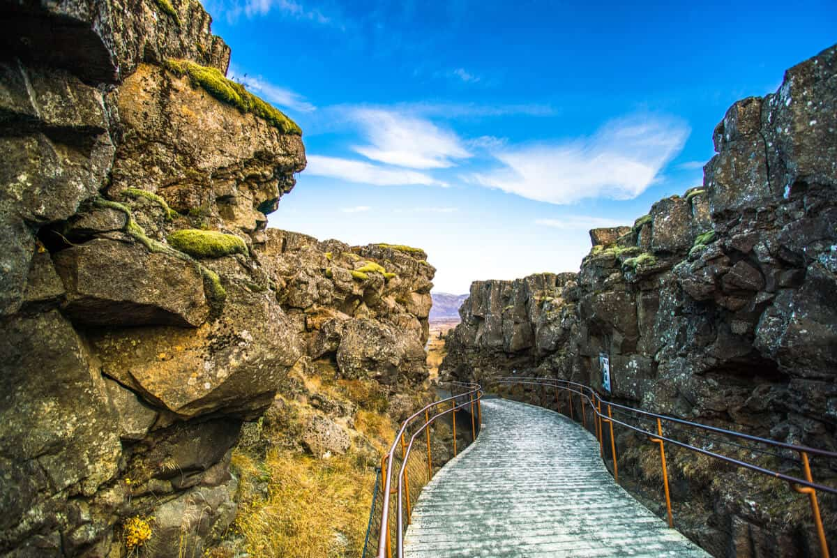 Golden Circle tour Iceland Thingvellir