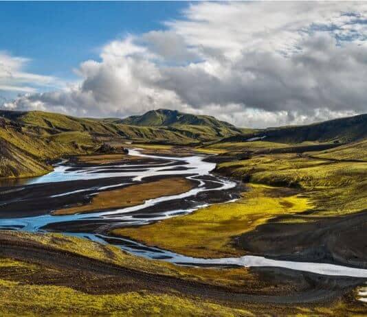 Highland F208 Iceland has stunning views