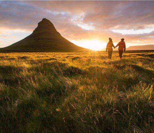 Iceland honeymoon couple Snaefellsnes Peninsula