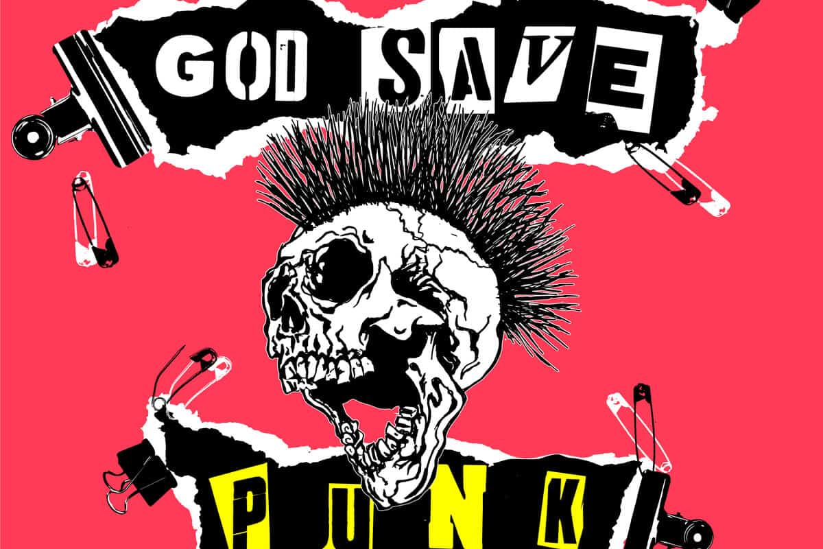 Iceland museums punk music skull