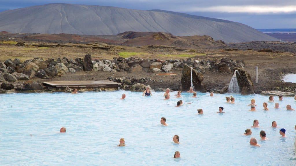 Geothermal Bathing Spots in Iceland