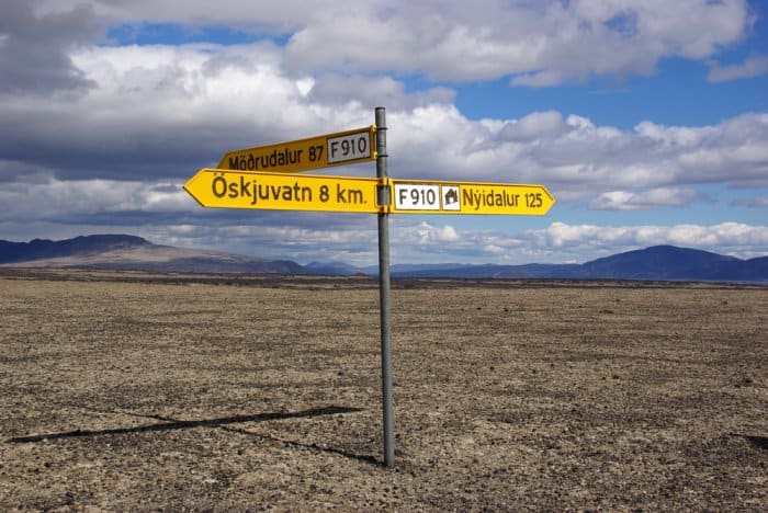 Driving Rules in Iceland