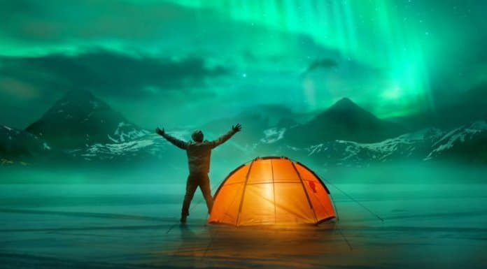 Camping Iceland in Winter